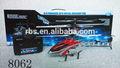 De plástico& aleación 3.5ch rc helicóptero con el girocompás 2.4g