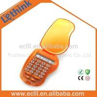 Mango shape pretty flip cover Calculator for kids