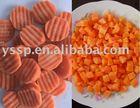 New season frozen carrots