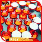 ss20 sun/orange decorative glass stones