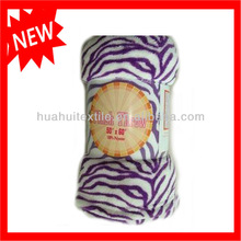 2015 New Fashion!!! Wholesale 100% Polyester Printed Coral Fleece Blanket