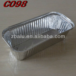 Newest!! Zhongbo aluminium containers for food C098