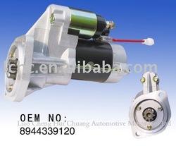 24V motor starter for Isuzu4JAI/4JBI engines (QDJ2304)