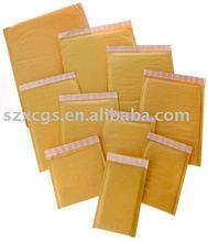 Chinese mail lite kraft padded bag Kraft bubble mailers bubble envelope