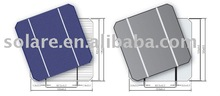 high efficiency 125*125mm Monocrystalline silicon solar cell