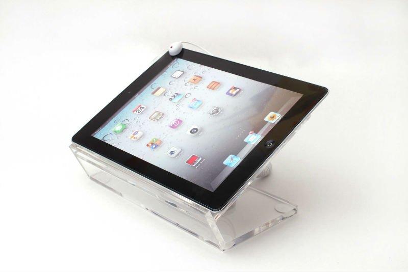 Anti roubo segurança acrílico titular exibição para Tablet / Ipad