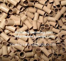 POPULAR micro ring loop hair extensions in blonde