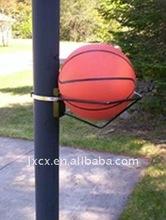 S6250 pole mount basketball holder -1 ball storage rack