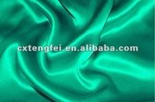 dyed stretch satin fabric