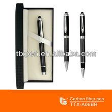 TTX-A06BR Carbon fiber stylus pen with touch function