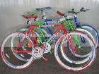 HH-FG1186 Colorful fixed gear bike with unique design