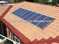 IEC/CEC certified poly 120w solar panel