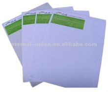White color and A grade quality hot melt glue sheets coated glue