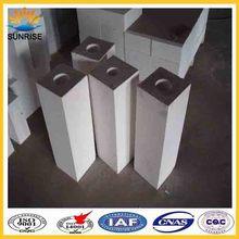 pour four à verre jm28 mullite isolation briques réfractaires