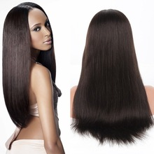 New product Guleless Virgin Brazilian Human hair full lace wig Supply 6A grade full lace wig
