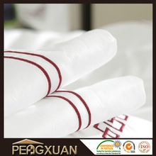 bed linen brand 100% cotton white bed cover embroidery bed sheet set