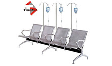 high quality 3-seat Public line chair/airport waiting chair/airport lounge chairs