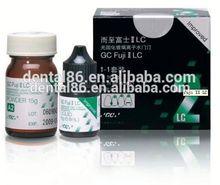 gc fuji ii lc light cured glass ionomer cement Dental material Light Cured Glass Ionomer cement