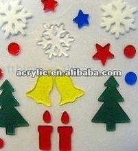 2012 new design window christmas decoration