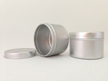 55g airtight aluminum tin candy jar