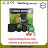 Inground pet fencing system 023 & 300 meter remote dog trainer