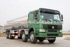 8x4 Howo fuel tanker oil tanker truck/fuel delivery truck/tanker truck with 1500L-3000L