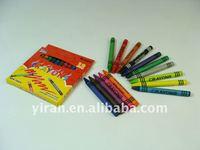 2013 Yiwu Small Size Colorful Wax Crayon