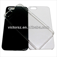 for iphone 5 crystal case,2013 oem custom plain crystal Case for iphone 5