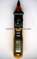 Pen Type Digital Multimeter with non-contact AC voltage detector