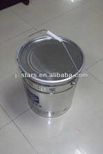 stackable metal paint cans