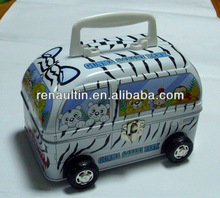 car shaped tin box; toys tin can