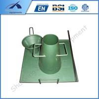 STA-1 Slump Cone Testing Apparatus/soil testing equipment used