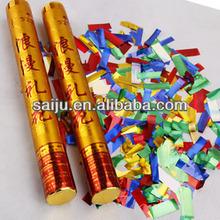 Air confetti/streamer party popper