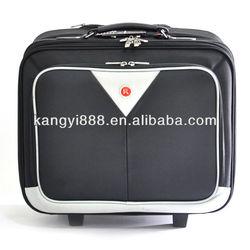cool designed black/white fashion laptop trolley bag