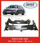 Auto car pp front bumper /rear bumper diffuser bodykit for benz w204