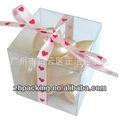 Plástico pet/pvc boa qualidade caixa de presente