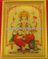 Lámina de oro proveedor religiosa/dios foto 3d lámina de oro marco deimagen