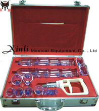 Professional cupping massage set with CE certificate