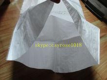 2014 white pp rice grain bag for packing 100kg