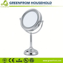 Double-sides professional makeup mirror with lights with CE