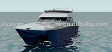 14m motor boat