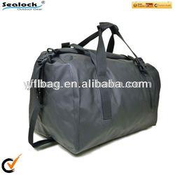 60L black waterproof motorcycle duffel bag
