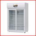 Sc105l porta de vidro geladeira, Vitrine comercial