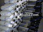 Aluminium gas cylinder for nitrogen gas