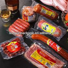 vacuum plastic bag/food vacuum plastic bag/vacuum sealed plastic bags for ham/sausage