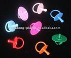 PP/PS nipple shape lollipop ring sticks