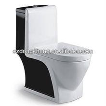One piece color Ceramic wc toilet parts