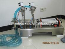 Double-head Piston Filling Machine G1WY-2Y for liquid,oil,yellow wine,juice,tea,soy milk