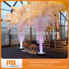 party ostrich feathers for table centerpiece