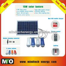 15w natural resources solar hanging lantern
